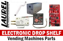 Electronic Drop Shelf Parts