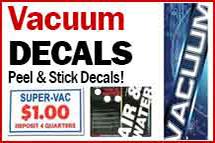 Vacuum Decals