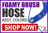 Foamy Brush Hose
