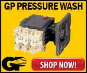 GP Pressure Washer Pumps