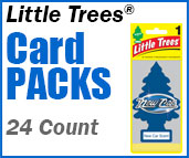 Little Trees 24 Carded Pack