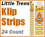 Little Tree car air fresheners Klip Strips