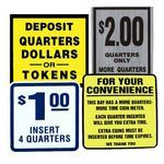 Coin Box Decals