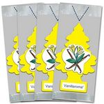 Little Trees Air Fresheners - Vanillaroma - 72 Pouch Pack