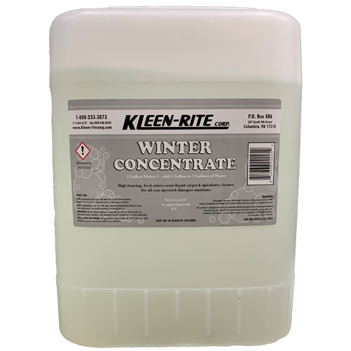 Winter Shampoo For Carpet Machines At The Best Price Order