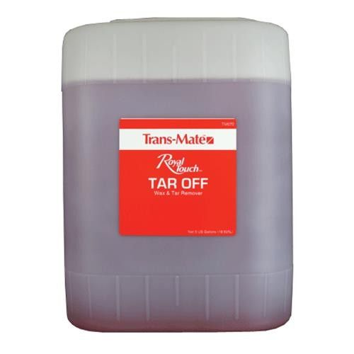 Tree Sap Remover >> Trans-Mate Tar Off Tar Remover Solvent - 5 Gallons