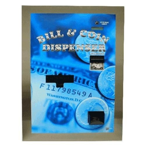 Ac7805 Rear Load Dual Bill And Coin Dispenser With Pyramid
