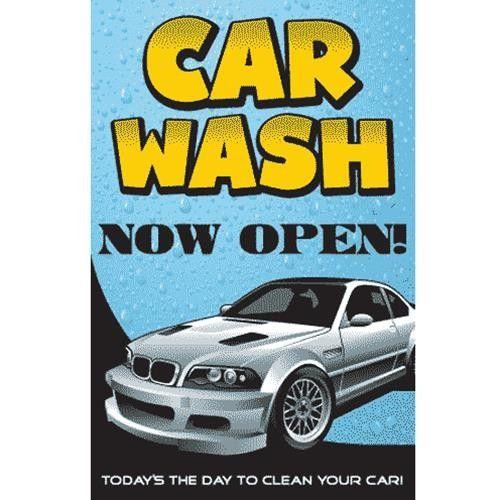 "Kleen-Rite Corporation - ""Car Wash Open"" Windmaster Sign ..."