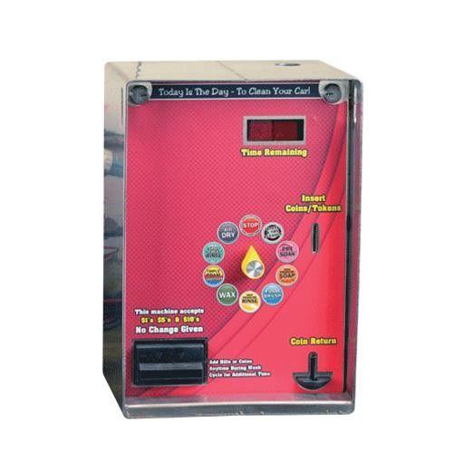 car wash coin box