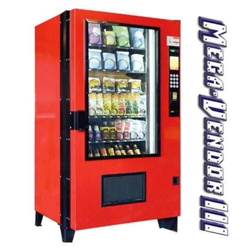 MegaVendor III with Coinco and Drink Trays, Refrigerated