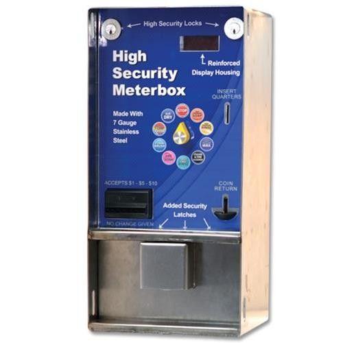 Car wash coin box car wash meter box self serve car wash coin high security meter box long hull solutioingenieria Gallery