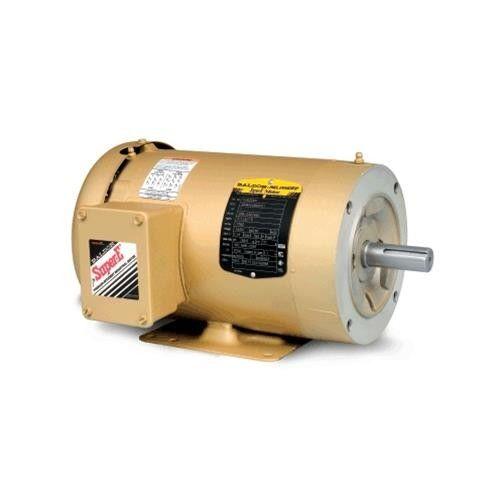 Baldor motors 5 hp 3 phase encl tefc frame 184tc for 5 hp tefc motor