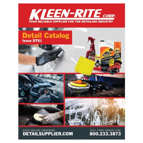 Auto Detailing Product Catalog Detailing Chemicals Extractors Polishers Kleen Rite