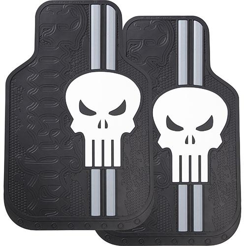 Plasticolor 001486R01 Marvel Punisher Floor Mat Set