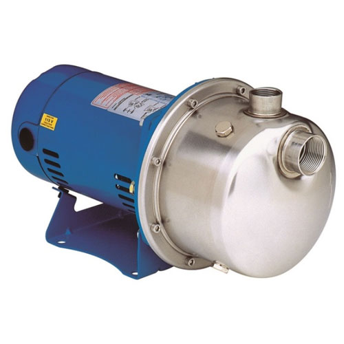 Goulds LB1035 Stainless Steel Booster Pump - 1 HP, 3 PH, 20 GPM