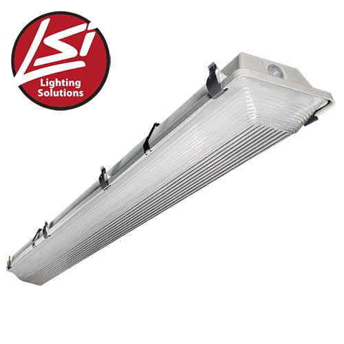 Lsi 547371 Led 8 Ft Vapor Ceiling Mount Light Fixture
