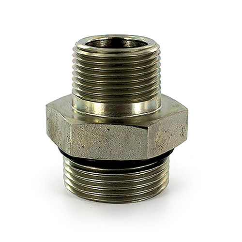 """Fit Tube OD 3//8/"""" 1//4/"""" NPT Male Brass SAE 45 Degree Pipe Fitting Adapter"""