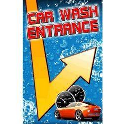 "Master Car Wash >> ""Car Wash Entrance"" with Arrow Windmaster Sign Insert ..."