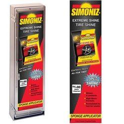 Simoniz Tire Shine Gel Sponge|One Column Vender Decal